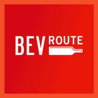 Logo for:  BevRoute Magazine