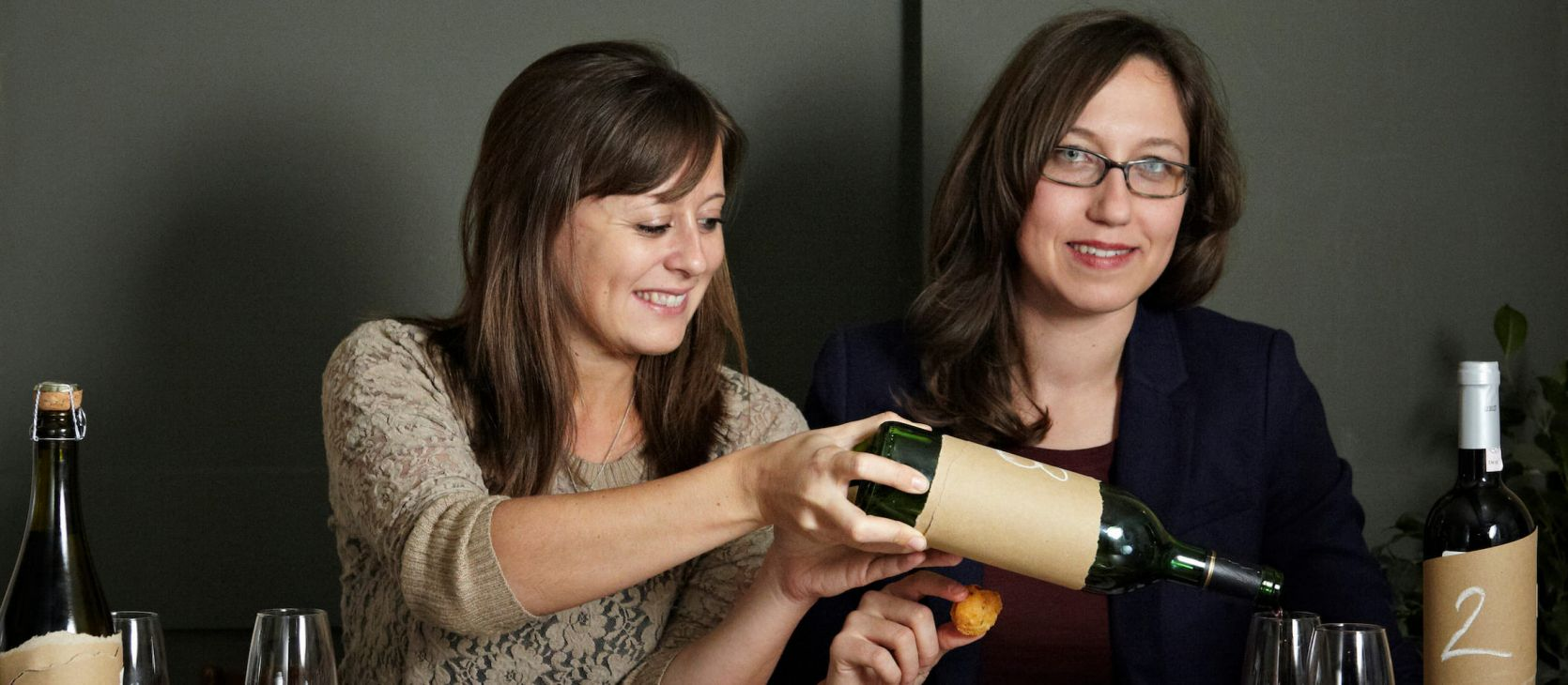 Photo for: Interviewing Unwined Bar Owners, Laura & Kiki