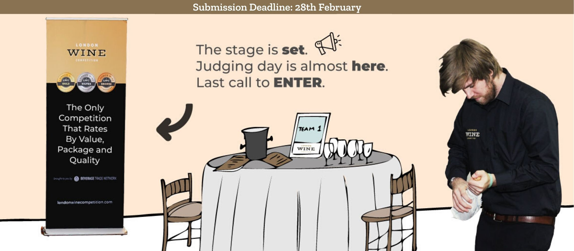 Photo for: London Wine Competition Submissions End On 28th February