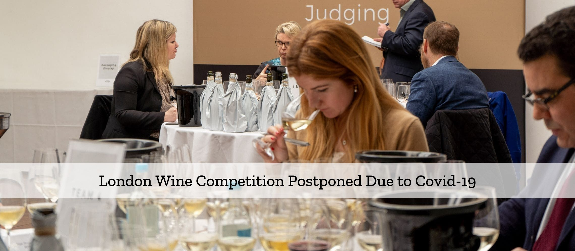 Photo for: London Wine Competition Postponed Over Covid-19