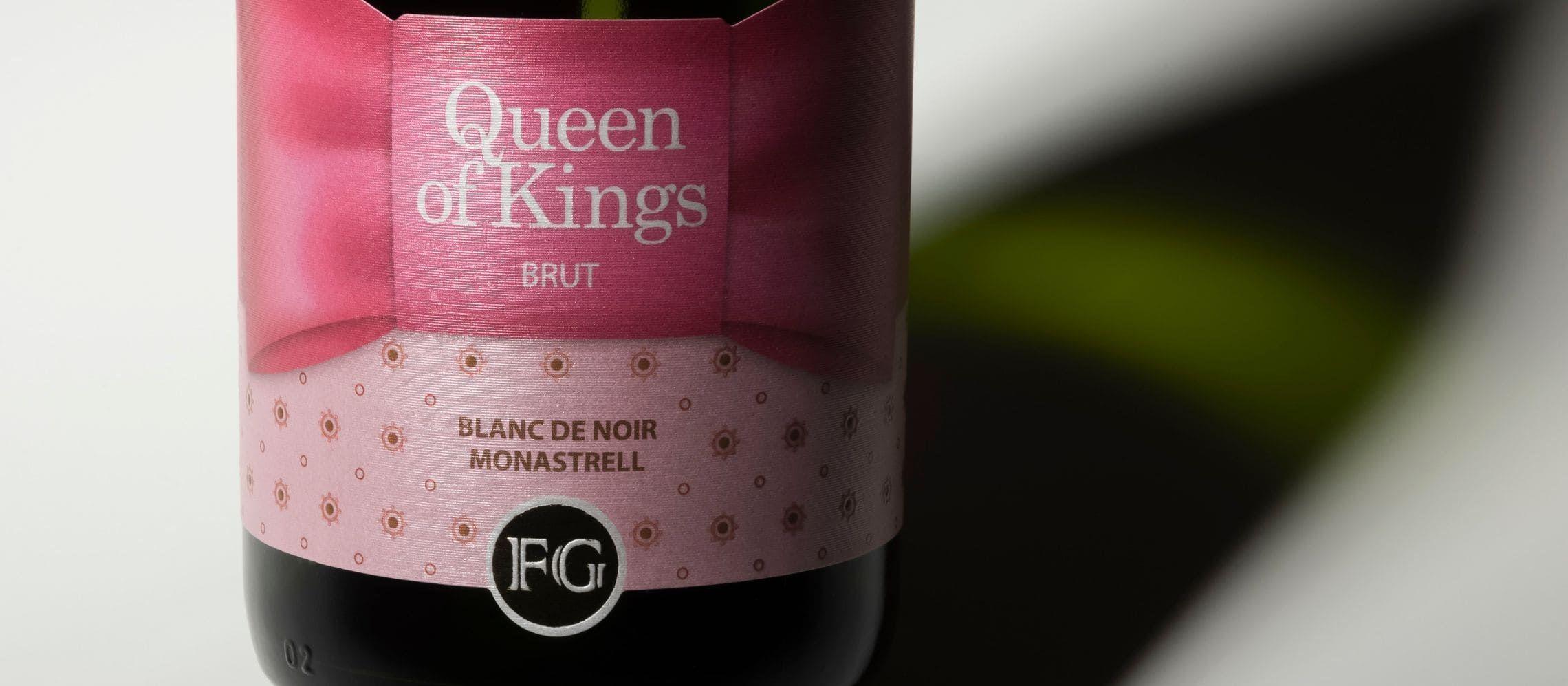 Photo for: Queen of Kings Blanc de Noir (Brut) Named Spain's Best Wine