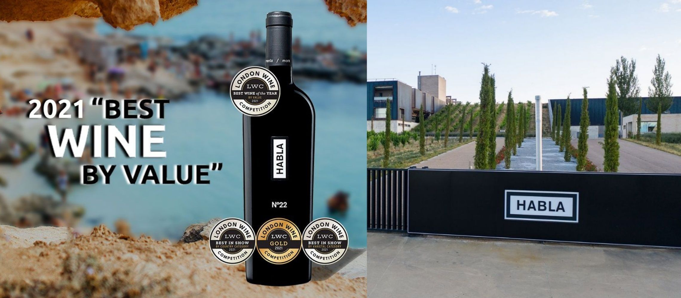 Photo for: Habla Nº22 Crowned Best Wine by Value