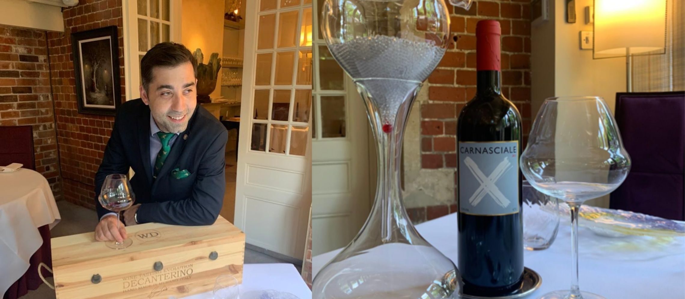 Photo for: Q & A with Lucian Obreja, Head Sommelier