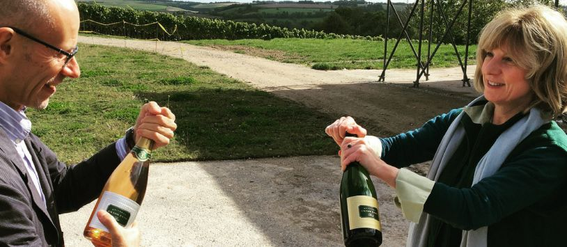 Photo for: 5 Best English Sparkling Wine Producers